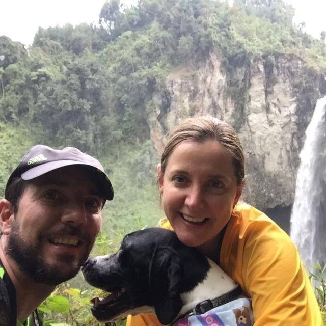 Maria Fernanda y Andrés Peña